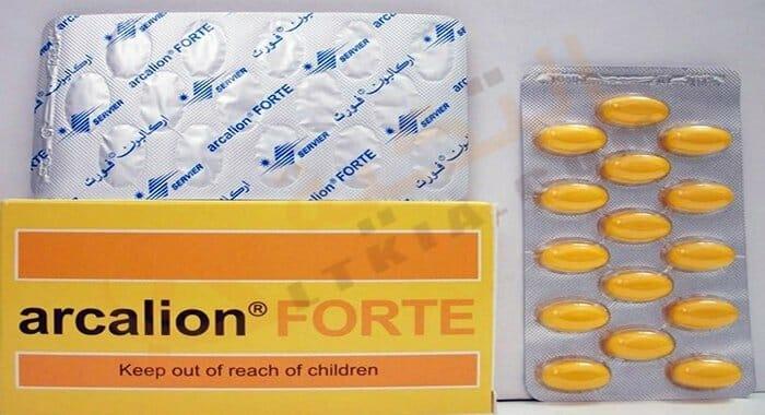 أركاليون فورت Arcalion Forte لتحسين الذاكرة والضعف الجنسي