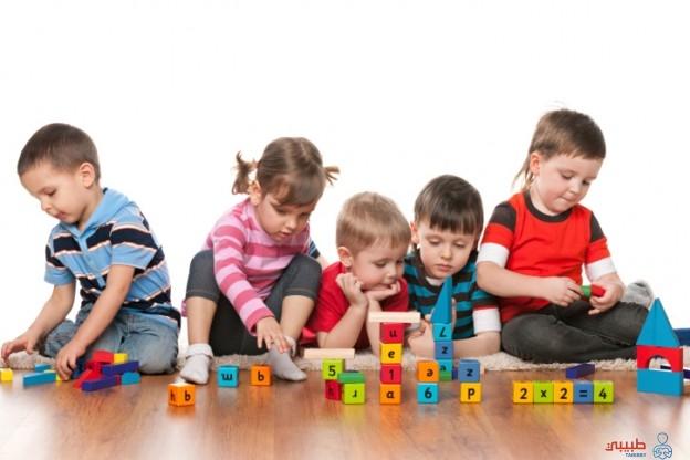 أنواع اللعب عند الأطفال