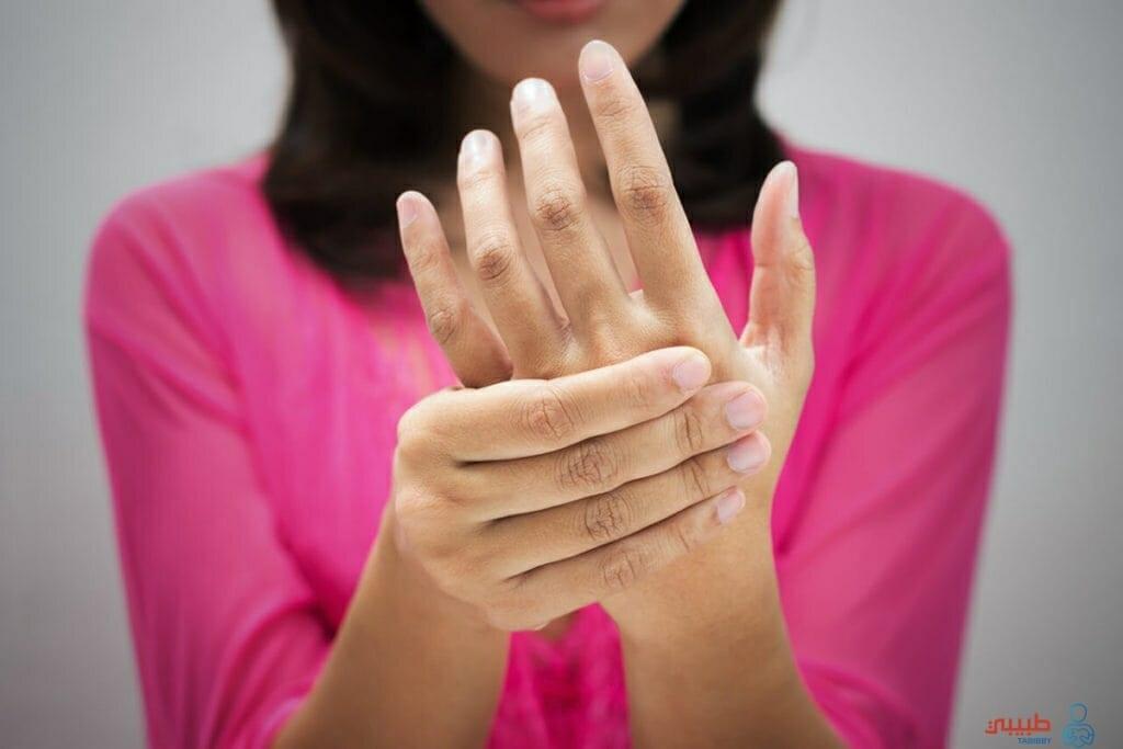 اسباب الم مفصل اليد عند الحامل