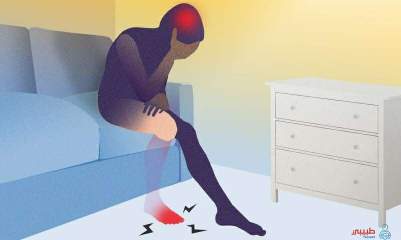 اعراض ألم الطرف الوهمي