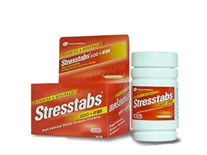 سترس تابس Stresstabs مكمل غذائي السعر ودواعي الاستعمال والآثار الجانبية طبيبي