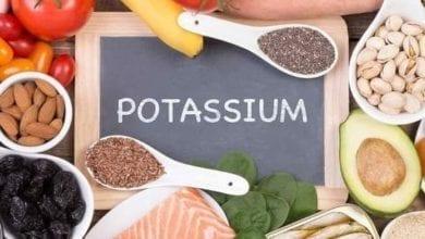 التوازن بين الصوديوم والبوتاسيوم