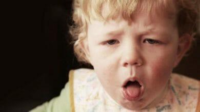 الكحة عند الرضع والاطفال