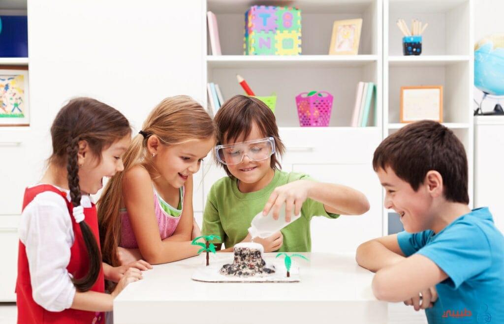 انواع اللعب عند الأطفال