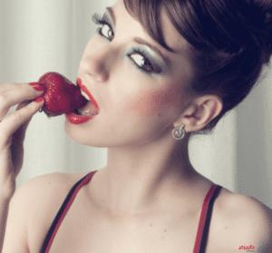 فوائد الفراولة للجنس
