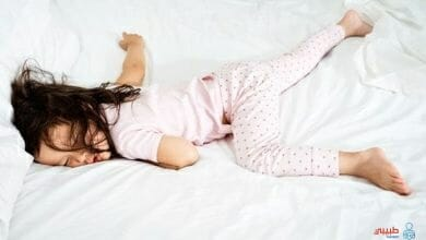 كثرة حركة الطفل أثناء النوم