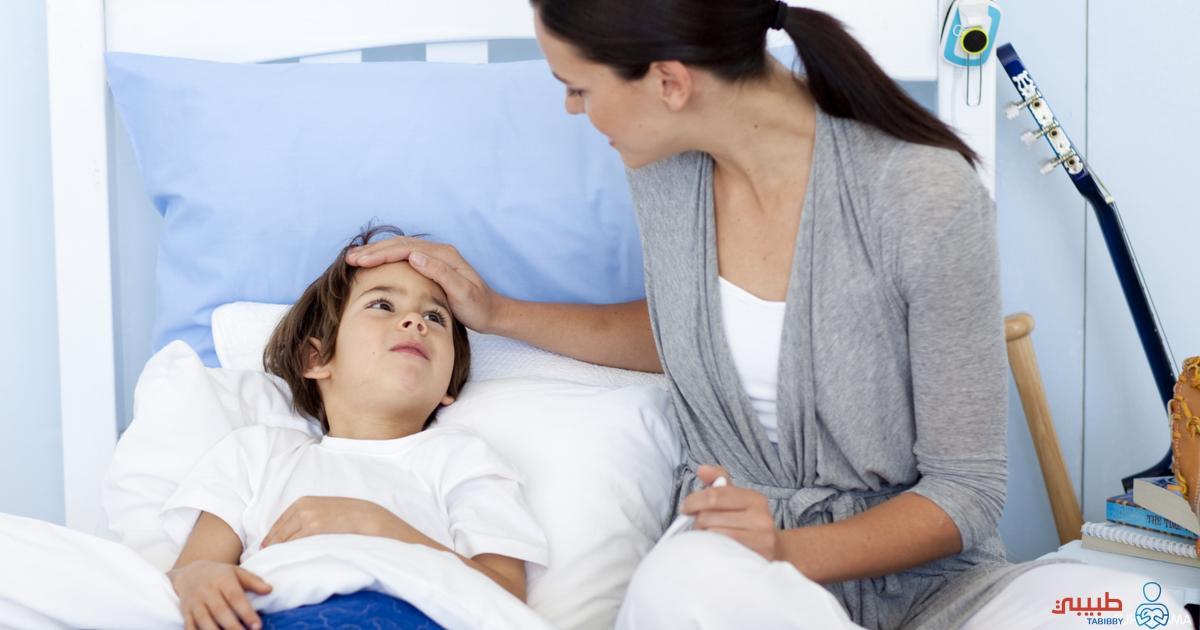 رعشة الجسم عند الأطفال