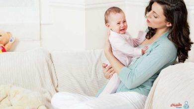 الارتجاع عند الرضع