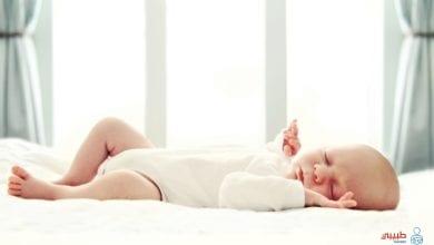 الرضيع أثناء النوم