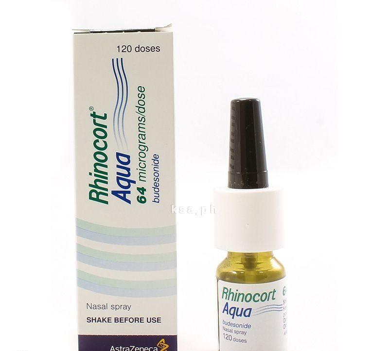 الآثار الجانبية لبخاخ رينوكورت أكوا