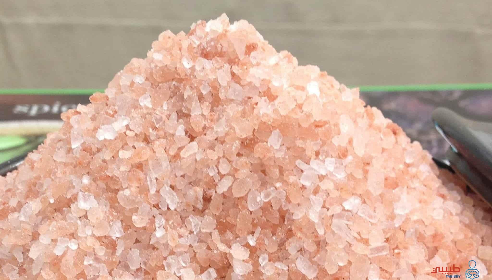 اين يوجد الملح الصخري