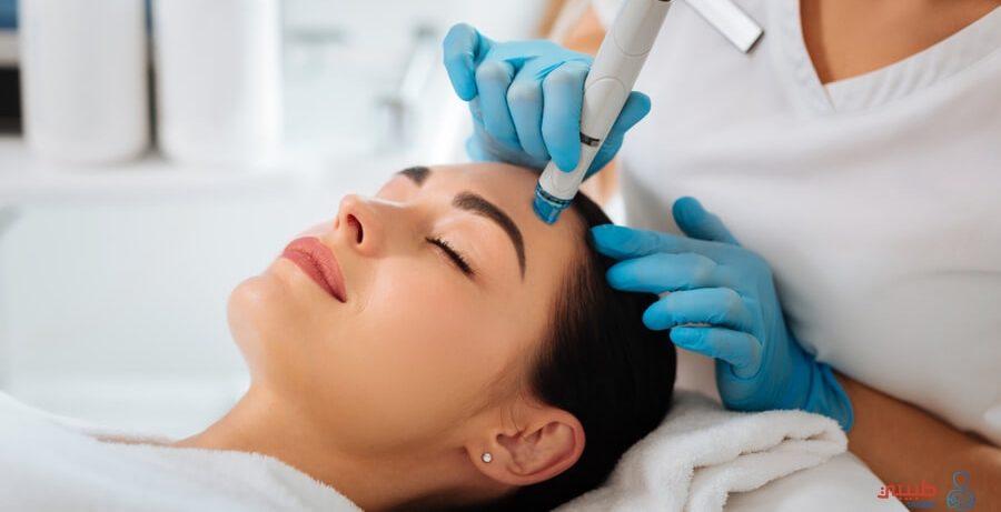 التنظيف الطبي بتقنية الهيدرا فيشل