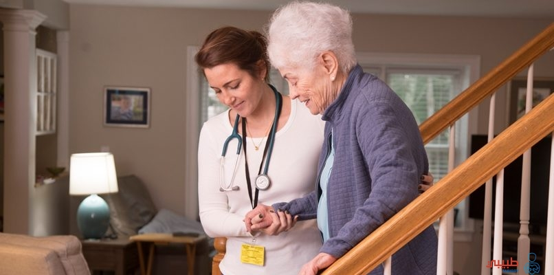 رعاية كبار السن بالمنزل