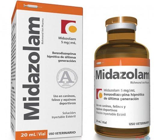 التداخلات الدوائية ميدازولام
