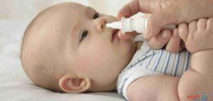 علاج زكام عند الرضع