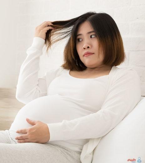 تأثير صبغ الشعر للحامل