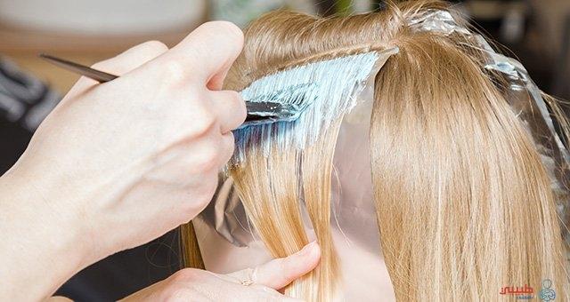 صبغ الشعر أثناء الحمل