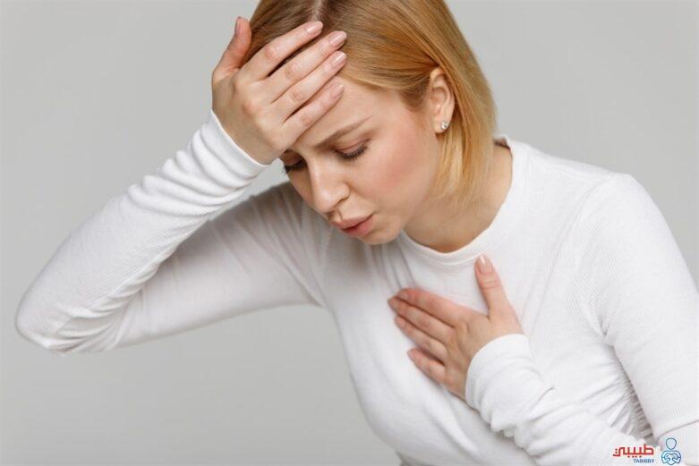 أعراض ضيق التنفس المرتبط بالرئتين
