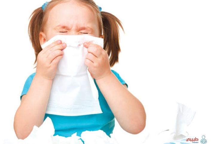 أعراض نزلات البرد عند الأطفال