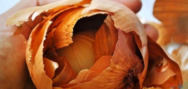 فوائد قشرة البصل