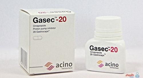 الآثار الجانبية لدواء جاسيك Gasec
