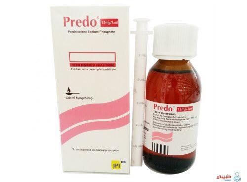 الآثار الجانبية لدواء شراب بريدو PREDO